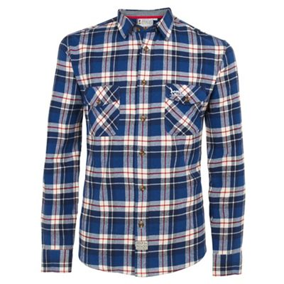 Help for Heroes Tri colour check flannel shirt