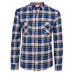 Help for Heroes - Tri colour check flannel shirt