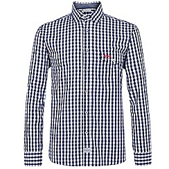 Help for Heroes - Navy Checked Shirt