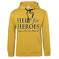 Help for Heroes - Mustard pull on hoody