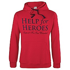 Help for Heroes - Red pull on hoody