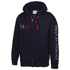 Help for Heroes - Navy zipped hoody
