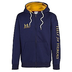Help for Heroes - Navy zip through hoody