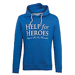 Help for Heroes - Cobalt blue pull on hoody