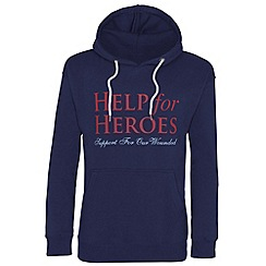 Help for Heroes - Navy pull on hoody