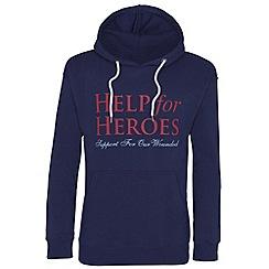 Help for Heroes - Navy pull on hoody