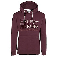 Help for Heroes - Raisin pull on hoody