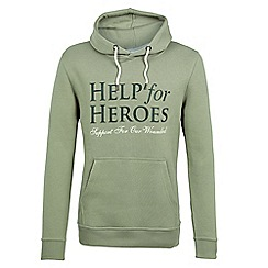 Help for Heroes - Sage green pull on hoody