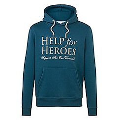 Help for Heroes - Teal pull on hoody