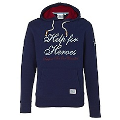 Help for Heroes - Navy signature pull on hoody