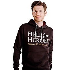 Help for Heroes - Black and red Pull on Hoody
