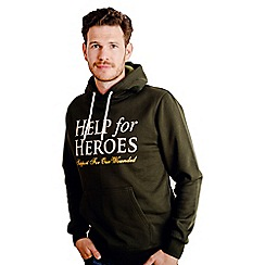 Help for Heroes - Pine Green Pull on Hoody