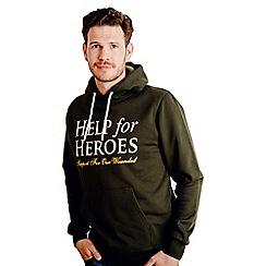 Help for Heroes - Pine Green Pull on Hoody