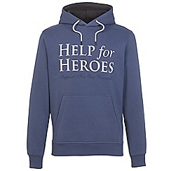 Help for Heroes - Fossil Blue Pull on Hoody