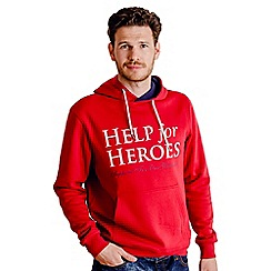 Help for Heroes - Apple Red Pull on Hoody