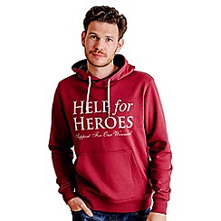 Help for Heroes - Burgundy Pull on Hoody