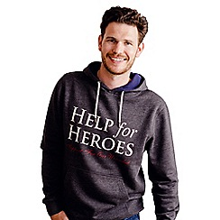 Help for Heroes - Grey Marl Pull on Hoody