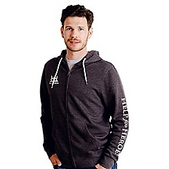 Help for Heroes - Grey Marl Zipped Hoody