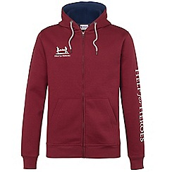 Help for Heroes - Burgundy Zipped Hoody