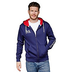 Help for Heroes - Navy and Red Zipped Hoody