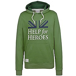 Help for Heroes - Green vigour hoody