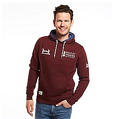 Help for Heroes - Pull on hoody in maroon with logos
