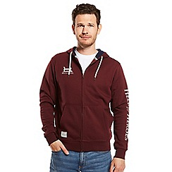 Help for Heroes - Wine zipped hoody