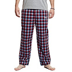 Help for Heroes - Tri colour checked pyjama bottoms