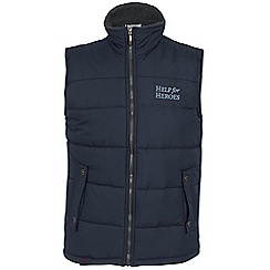 Help for Heroes - Regatta navy gilet