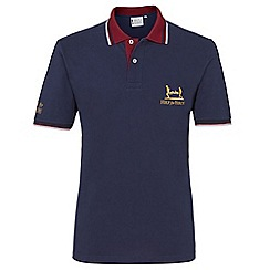 Help for Heroes - Navy tipped polo shirt