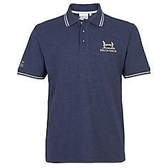 Help for Heroes - Blue marl tipped polo