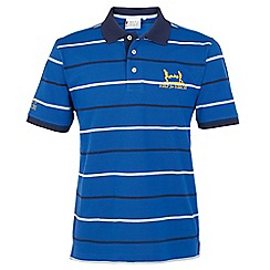Help for Heroes - Cobalt striped polo
