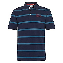 Help for Heroes - Navy and Aegean Blue Stripe Polo Shirt