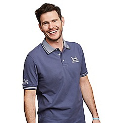 Help for Heroes - Fossil blue Ascot polo