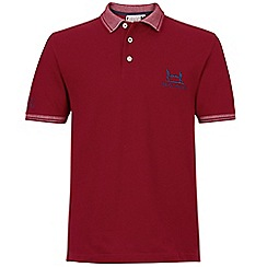 Help for Heroes - Red ascot polo