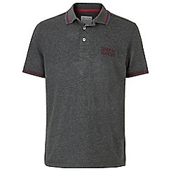 Help for Heroes - Dark grey jersey polo shirt