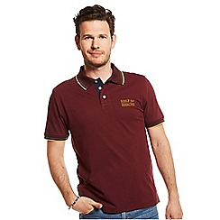 Help for Heroes - Maroon jersey polo shirt