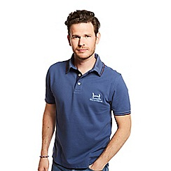 Help for Heroes - Embroidered blue indigo polo shirt