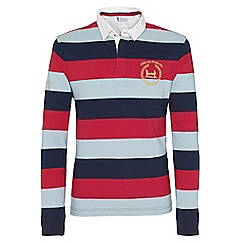 Help for Heroes - Tri colour stripe rugby shirt