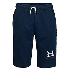 Help for Heroes - Navy cut off sweat shorts