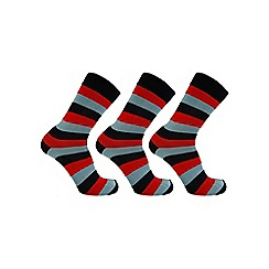 Help for Heroes - Tri colour stripe dress socks