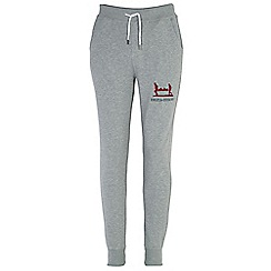 Help for Heroes - Grey marl cuffed sweatpants