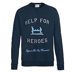 Help for Heroes - Navy sweatshirt
