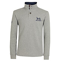 Help for Heroes - Grey button neck sweatshirt