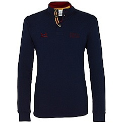 Help for Heroes - Navy button neck sweatshirt