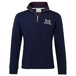 Help for Heroes - Navy quarter zip sweatshirt
