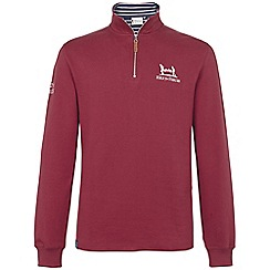 Help for Heroes - Burgundy Quarter Zip Sweatshirt
