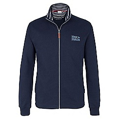 Help for Heroes - Navy funnel neck zipped sweatshirt