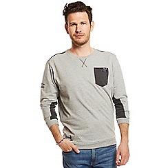 Help for Heroes - Grey marl crew neck sweatshirt
