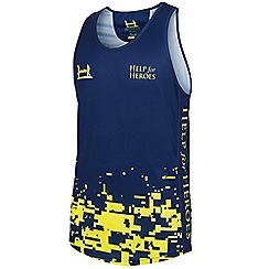 Help for Heroes - Men's fluro pixel running vest